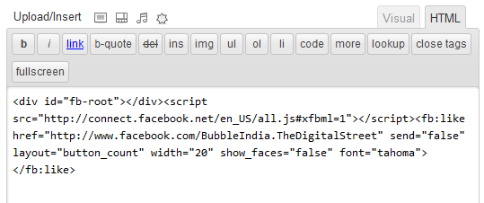Adding JavaScript in WordPress Posts and Pages